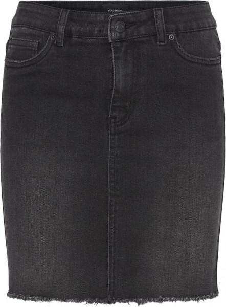Vero Moda faith Mr Short Dnm Skirt - Maat XS - Black