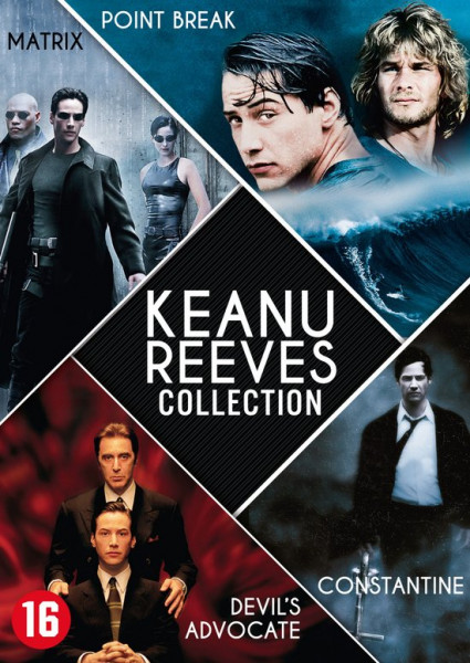koopjeshoek - KEANU REEVES COLLECTION /S 4DVD BI