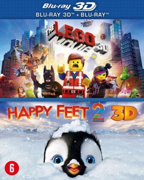 LEGO MOVIE+HAPPY FEET 2 (3D) /S 5BD3D BI