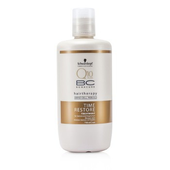 Schwarzkopf BC Time Restore Q10 Treatment - 750 ml - Haarmasker