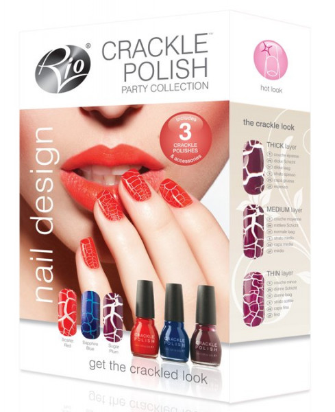 Rio Crackle Collection nagellakset