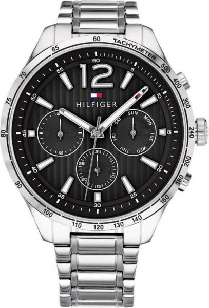 Tommy Hilfiger TH1791469 horloge heren - zilver - 46 mm