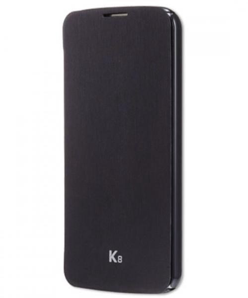 LG flip case - zwart - voor LG K8