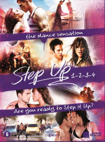 Step Up 1 t/m 4 Box Franstalig