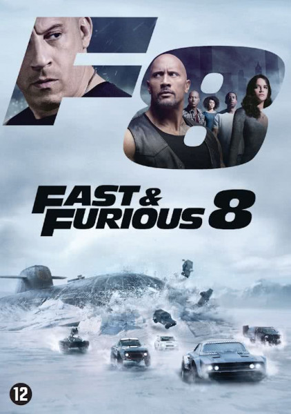 Fast & Furious 8 - The Fate of the Furious - DVD