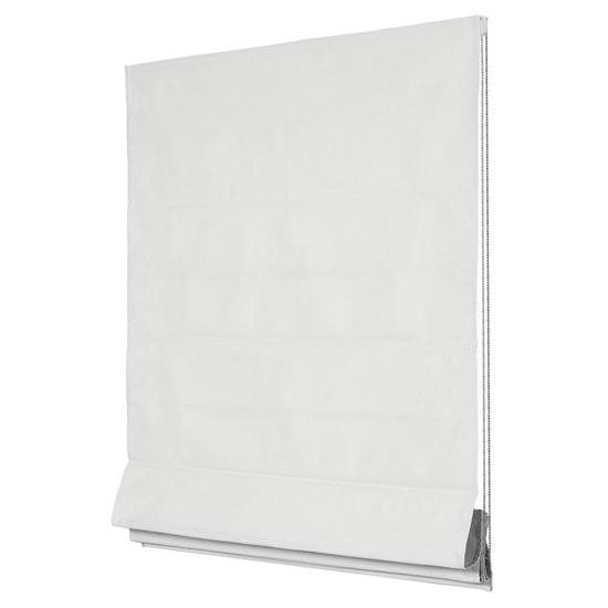 Intensions Exclusive-Vouwgordijn Lichtdoorlatend-Uni Luxe Wit-100x220cm
