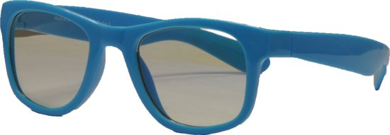 Unknown computer bril - REAL SHADES NEON BLUE SIZE 4+