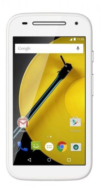 Motorola MOTO E (2nd Gen.) -ZONDER Lebara Prepaid - wit