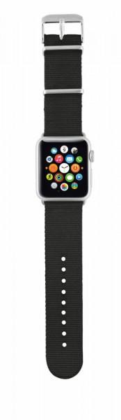 Trust Urban Nylon Horlogebandje voor Apple Watch (38 mm) - Zwart