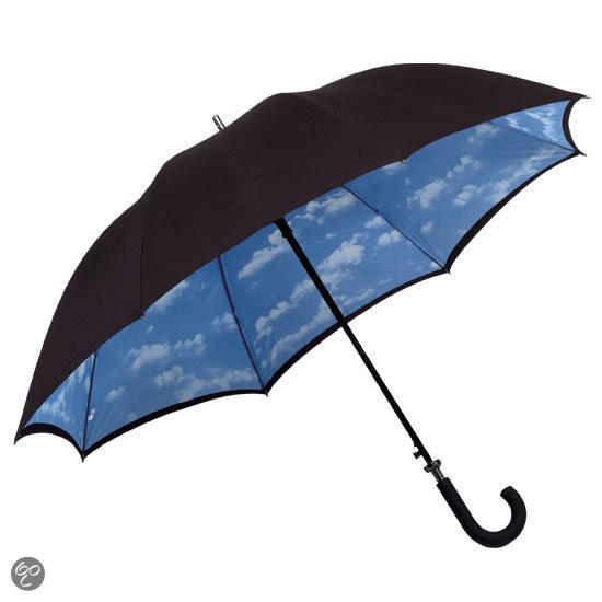 Adventure Bags Paraplu - 124 cm - Blauw/Zwart