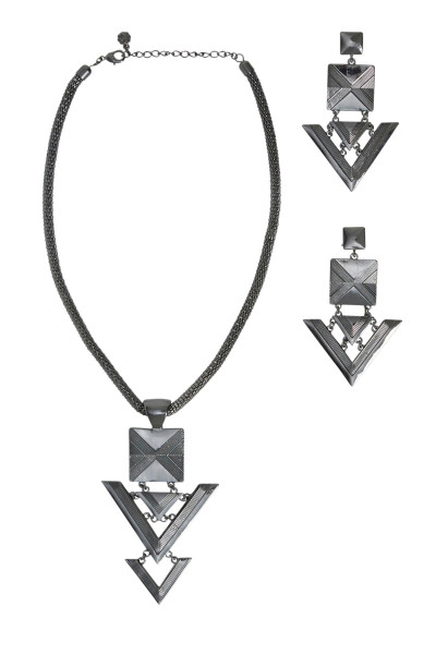 Pieces - Medina Set - Ketting + Oorbellen