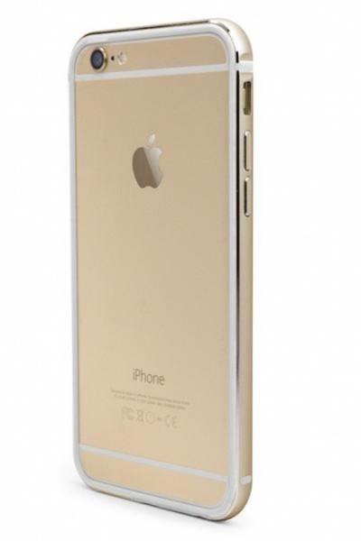 X-Doria Bumper - goud - voor iPhone 6/6S