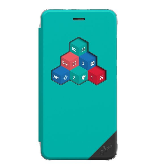 Wiko view cover voor Wiko Lenny 3 - turquoise