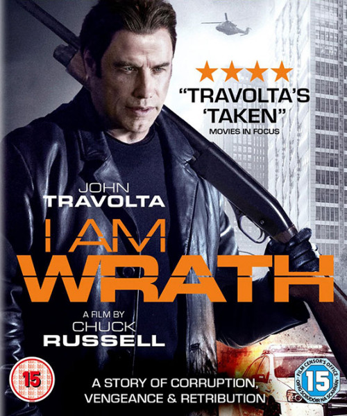 I Am Wrath - John Travolta (import) (DVD)