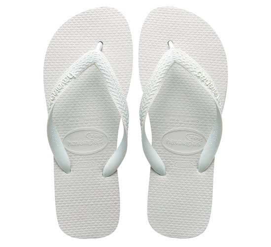 Havaianas Top Slippers - Unisex - Wit - Maat 37/38