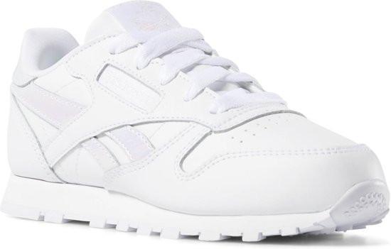 Reebok Classic Leather Sneakers Meisjes - White/White - Maat 34