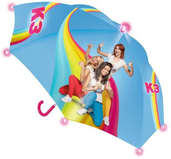 Koopjeshoek - K3: Paraplu met lichtjes