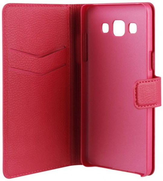Xqisit Slim Wallet Case voor de Samsung Galaxy A5 - roze