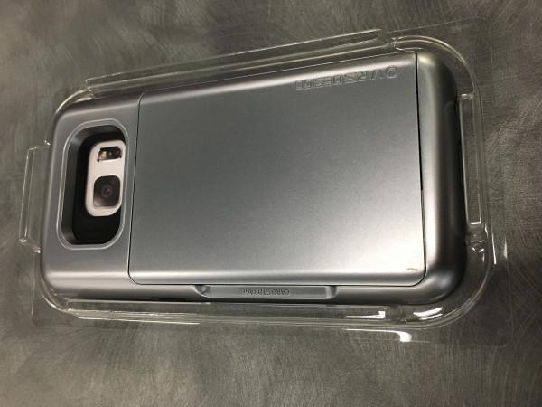 Demomodel - VRS DESIGN VRS DESIGN Damda Glide for Galaxy S7 gun metal