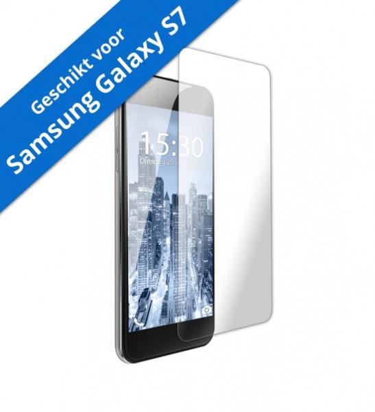 Tempered Glass Screenprotector - Samsung Galaxy S7