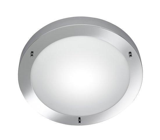 Trio Serie 6801 - Plafonniere - E27 fitting, 60W max - Chroom