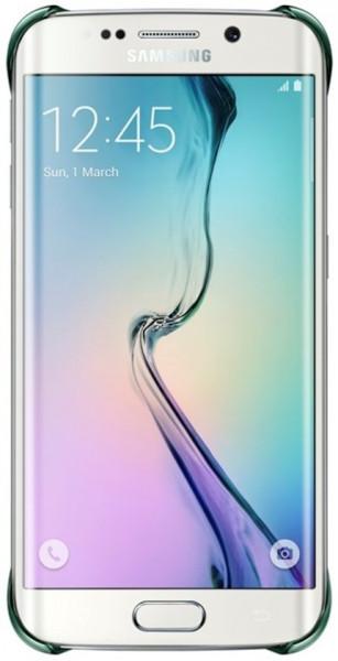 Samsung Clear Cover voor Samsung Galaxy S6 edge - Groen