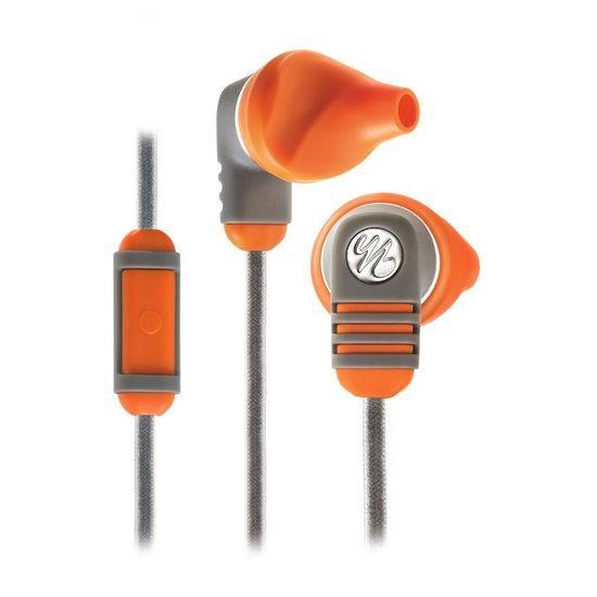 Yurbuds Venture Talk - In-Ear Sport Oordopjes universele mic/remote - Burnt oranje