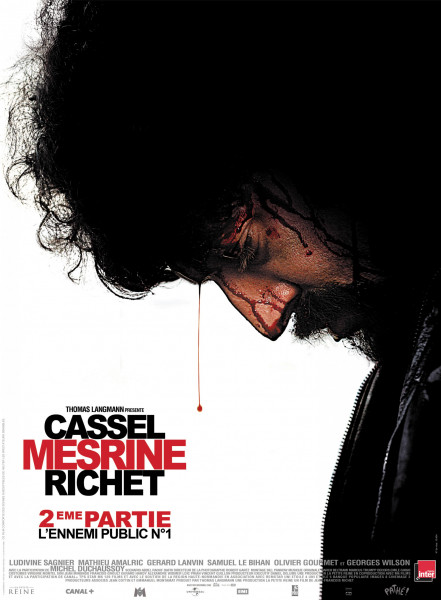 DVD Cassel Mesrine Richet (part two)