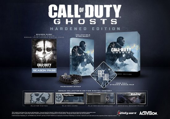 Call of Duty Ghosts Hardened Edition - PC