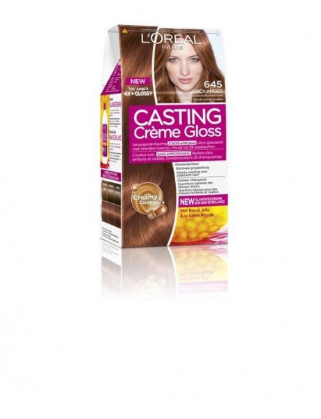 L'Oreal Paris Casting Creme Gloss 645 - Donker koper mahonieblond - Haarverf