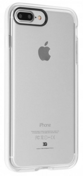 XQISIT PHANTOM XTREME for iPhone 7 Plus clear/white