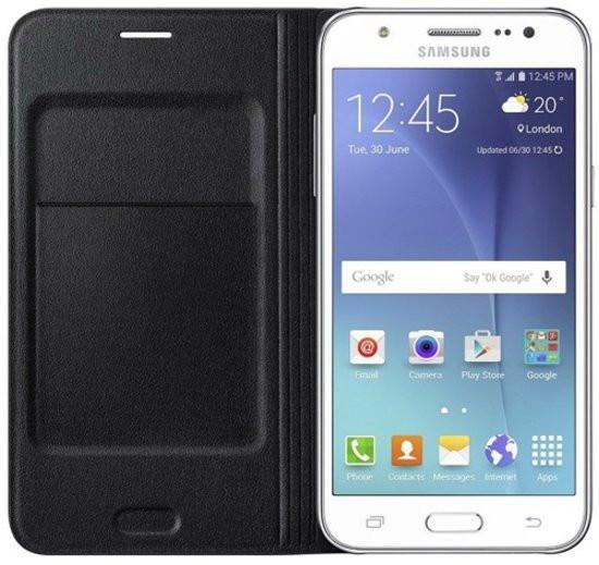 Samsung flip wallet - zwart - voor Samsung Galaxy J5