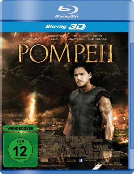 Pompeii 3D - Blu-ray - import