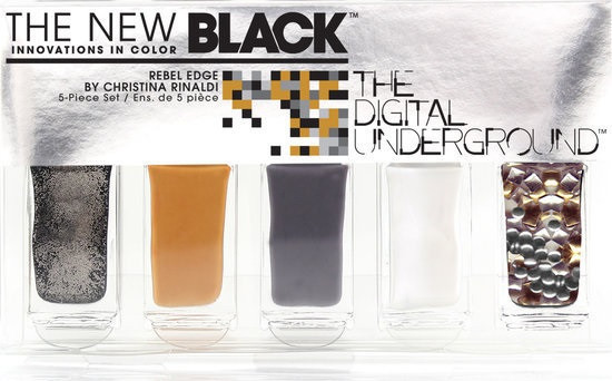 The New Black Digital Underground - Christina Rinaldi Rebel Edge - Nagellak