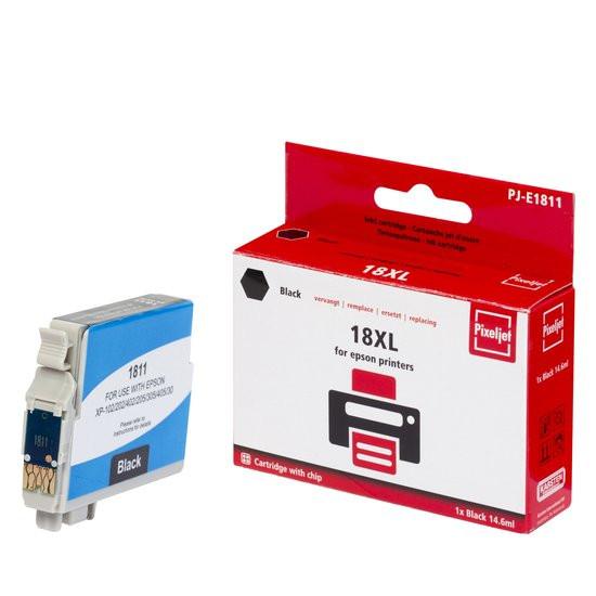 Pixeljet Epson 18XL T1811 zwart inktcartridge