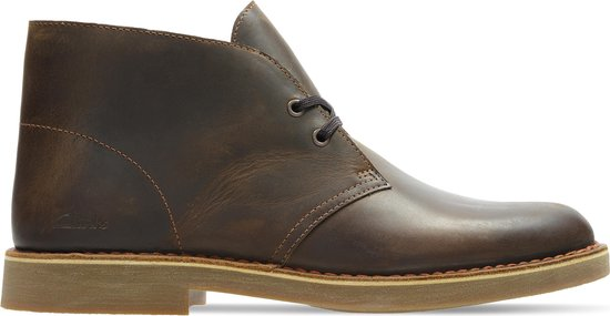 Clarks Desert Boot 2 - Maat 44 - Heren Veterschoenen - Beeswax Leather - Maat 44