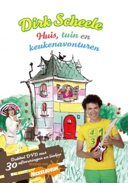 Dirk Scheele - Huis, Tuin En Keukenavonturen (dvd)