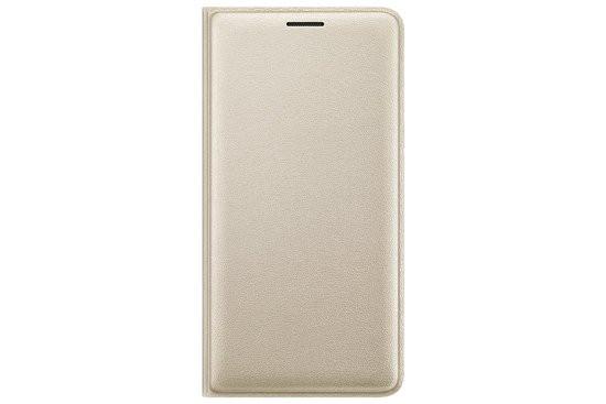 Samsung flip wallet - goud - voor Samsung Galaxy J3