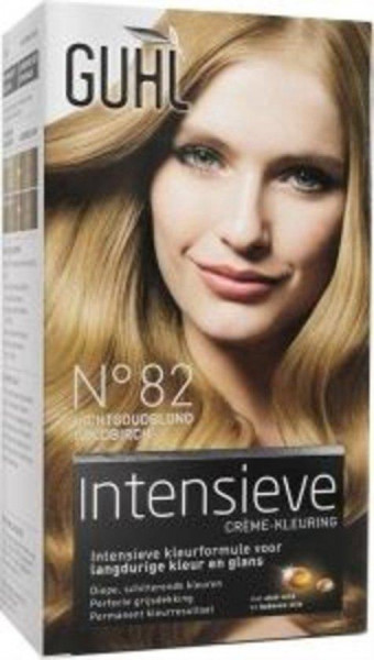 Guhl Creme-kleuring No. 82 - Licht Goudblond - Haarverf