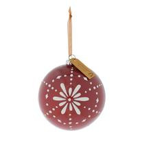 Riverdale glazen kerstbal (Ø12 cm)