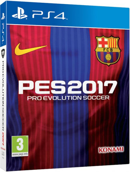 Pro Evolution Soccer 2017 (PES2017) - Barcelona Edition - Playstation 4