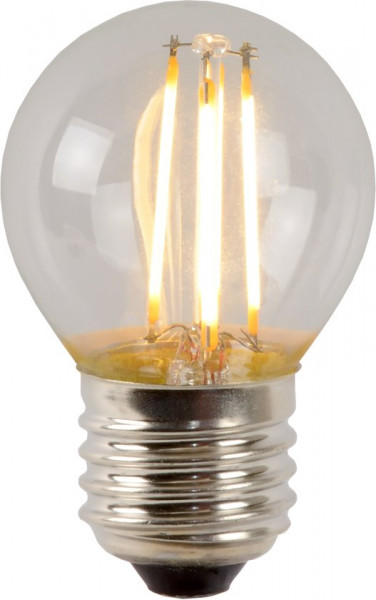 Lucide G45 - LED Filament lamp - E27/4W - Dimbaar - 2700K (Warm wit) - 320lm