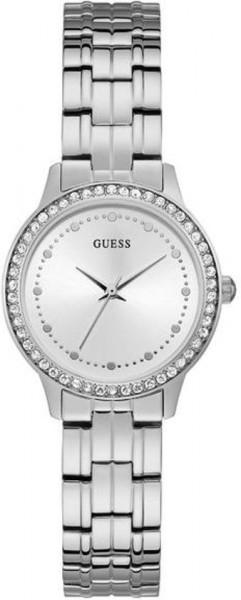 GUESS Watches W1209L1 Roestvrij staal Zilverkleurig