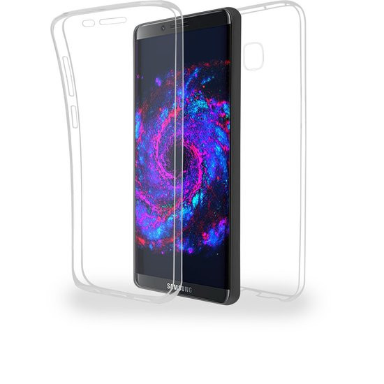 Azuri cover - Front & Back - transparant - voor Samsung S8