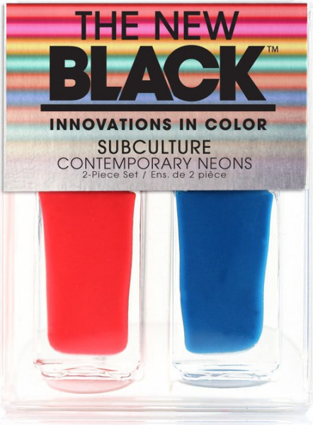 The New Black Subculture - Bright lights, Big City - Nagellak