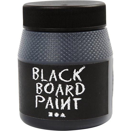 Schoolbordverf, zwart, 250 ml