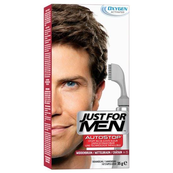 Just For Men Autostop Middenbruin - Haarverf