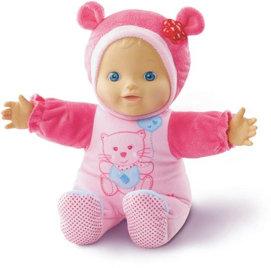 Koopjeshoek- VTech Little Love Kiekeboe Baby Roze - Pop