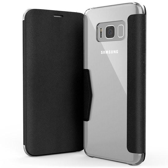 X-Doria Booklet case - zwart - voor Samsung Galaxy S8+