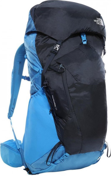 The North Face 50 Liter - Banchee Backpack Dames - Shady Blue/High Rise Grey - Maat XS/S